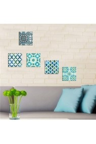 Tablou decorativ (5 bucati) Evila Originals 820EVL4574 multicolor