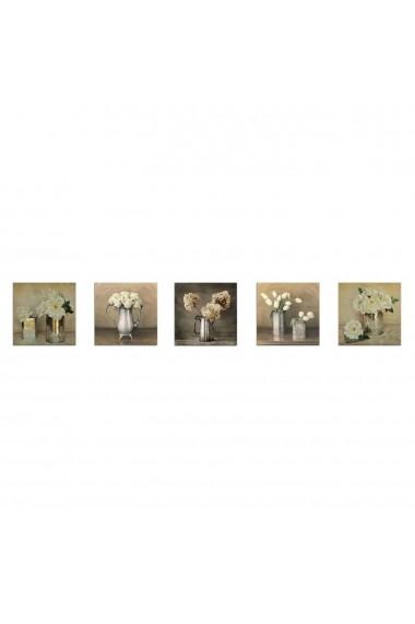 Tablou decorativ (5 bucati) Evila Originals 820EVL4576 multicolor