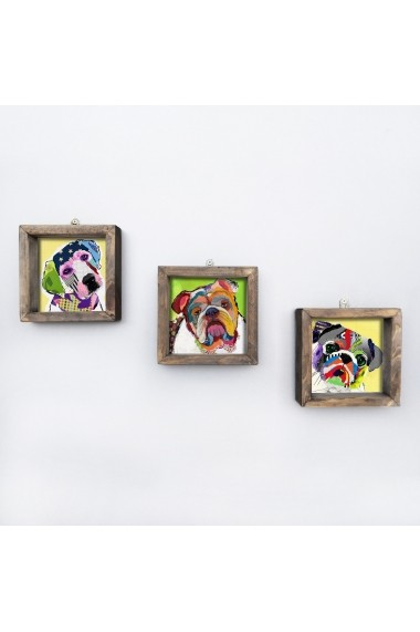 Tablou decorativ (3 bucati) Evila Originals 836EVL4627 multicolor