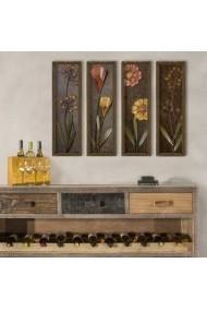 Tablou decorativ (4 bucati) Evila Originals 836EVL4326 multicolor