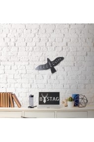 Obiect decorativ de perete Bystag ASR-805BSG1031 Negru