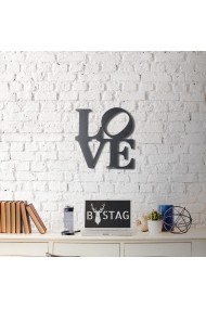 Obiect decorativ de perete Bystag ASR-805BSG1038 Negru