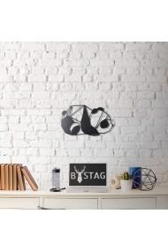 Obiect decorativ de perete Bystag ASR-805BSG1046 Negru