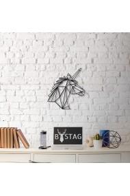 Obiect decorativ de perete Bystag ASR-805BSG1063 Negru