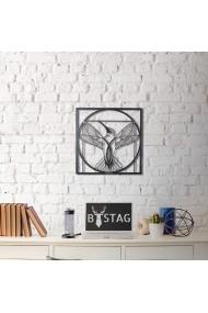 Obiect decorativ de perete Bystag ASR-805BSG1020 Negru