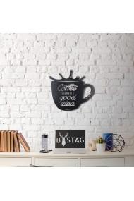 Obiect decorativ de perete Bystag ASR-805BSG1017 Negru