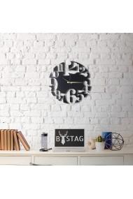 Ceas decorativ de perete Bystag ASR-805BSG1115 Negru