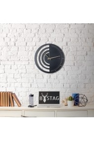 Ceas decorativ de perete Bystag ASR-805BSG1101 Negru