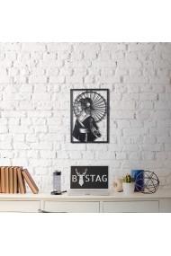 Obiect decorativ de perete Bystag ASR-805BSG1032 Negru