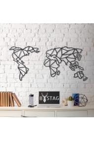 Obiect decorativ de perete Bystag ASR-805BSG1072 Negru