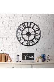Ceas decorativ de perete Bystag ASR-805BSG1103 Negru