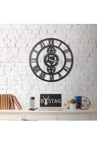 Ceas decorativ de perete Bystag ASR-805BSG1107 Negru