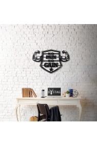 Obiect decorativ de perete Bystag ASR-805BSG1043 Negru