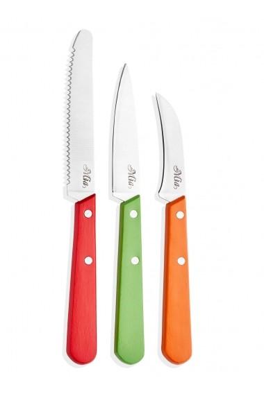 Set 4 cutite Mia 742TMA1517 multicolor
