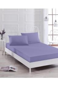 Set lenjerie de pat dublu EnLora Home 162ELR0638 Violet