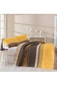 Set lenjerie de pat single EnLora Home 162ELR9421 Multicolor