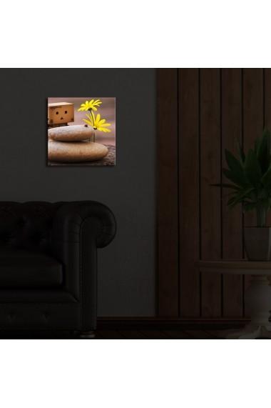 Tablou din panza, cu lumina LED Ledda ASR-254LED1273 Multicolor