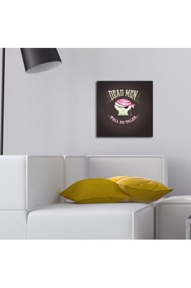 Tablou din panza, cu lumina LED Ledda ASR-254LED1274 Multicolor
