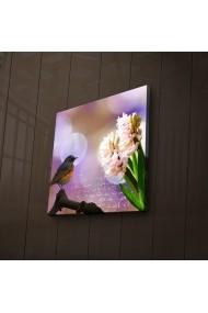 Tablou din panza, cu lumina LED Ledda ASR-254LED1281 Multicolor
