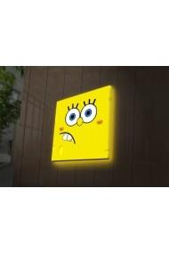 Tablou din panza, cu lumina LED Ledda ASR-254LED4208 Multicolor