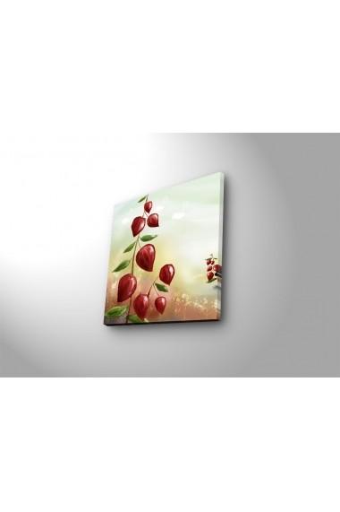Tablou din panza, cu lumina LED Ledda ASR-254LED4230 Multicolor