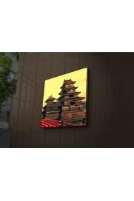 Tablou din panza, cu lumina LED Ledda ASR-254LED1290 Multicolor