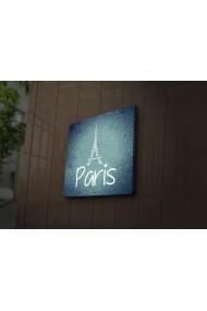Tablou din panza, cu lumina LED Ledda ASR-254LED3201 Multicolor