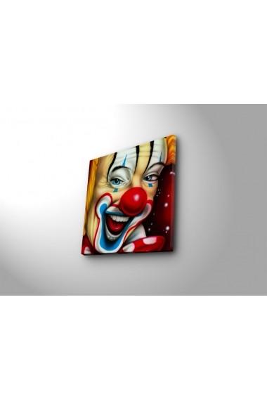 Tablou din panza, cu lumina LED Ledda ASR-254LED3202 Multicolor
