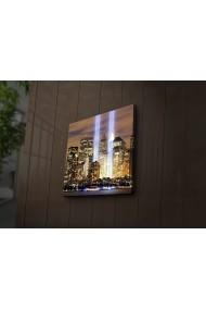 Tablou din panza, cu lumina LED Ledda ASR-254LED3217 Multicolor
