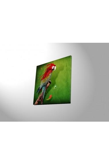 Tablou din panza, cu lumina LED Ledda ASR-254LED4251 Multicolor