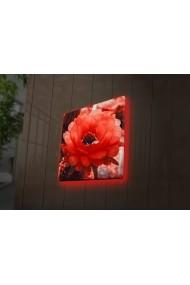 Tablou din panza, cu lumina LED Ledda ASR-254LED4253 Multicolor