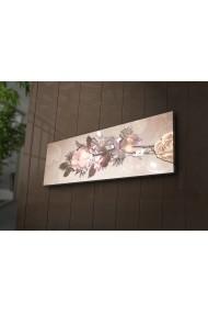 Tablou din panza, cu lumina LED Ledda ASR-254LED1205 Multicolor