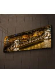 Tablou din panza, cu lumina LED Ledda ASR-254LED1207 Multicolor