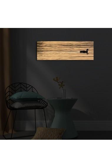 Tablou din panza, cu lumina LED Ledda ASR-254LED1210 Multicolor
