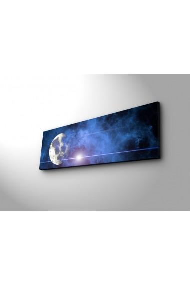Tablou din panza, cu lumina LED Ledda ASR-254LED3252 Multicolor
