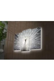 Tablou din panza, cu lumina LED(3 articole) Ledda ASR-254LED4266 Multicolor