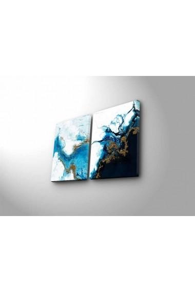 Tablou decorativ (2 bucati) Canvart 249CVT1392 multicolor