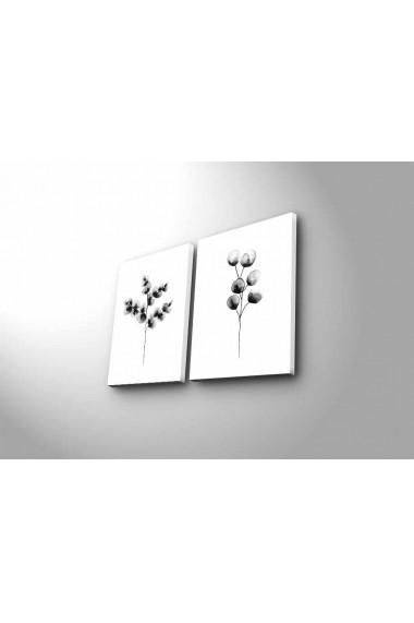 Tablou decorativ (2 bucati) Canvart 249CVT1395 multicolor