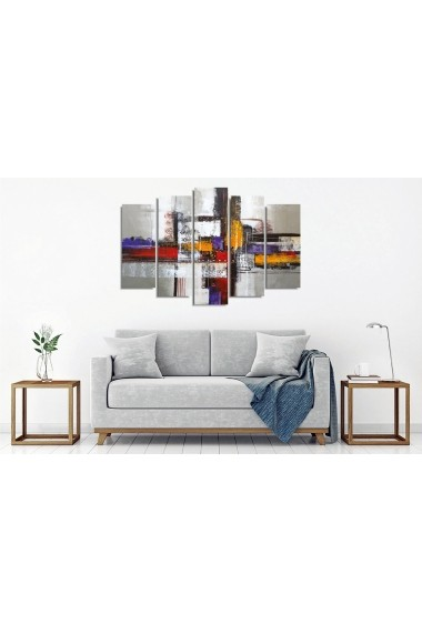 Tablou decorativ (5 bucati) Vega 265VGA1176 multicolor