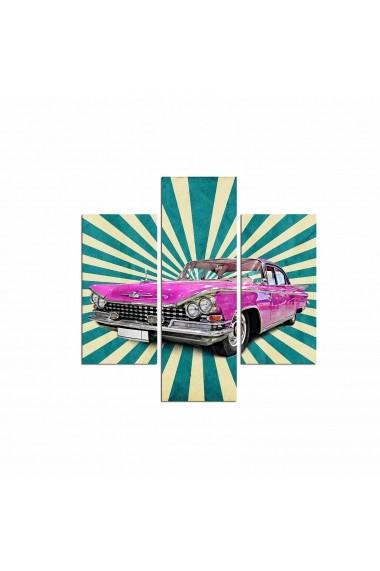 Tablou decorativ (3 bucati) Three Art 251TRE1902 multicolor