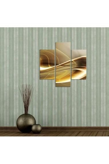 Tablou decorativ (3 bucati) Three Art 251TRE1904 multicolor