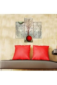 Tablou decorativ (3 bucati) Three Art 251TRE1905 multicolor