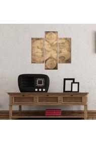 Tablou decorativ (3 bucati) Three Art 251TRE1907 multicolor