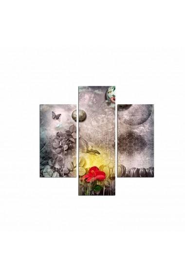 Tablou decorativ (3 bucati) Three Art 251TRE1908 multicolor