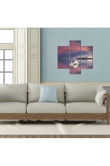 Tablou decorativ (3 bucati) Three Art 251TRE1910 multicolor