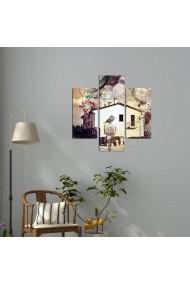 Tablou decorativ (3 bucati) Three Art 251TRE1912 multicolor