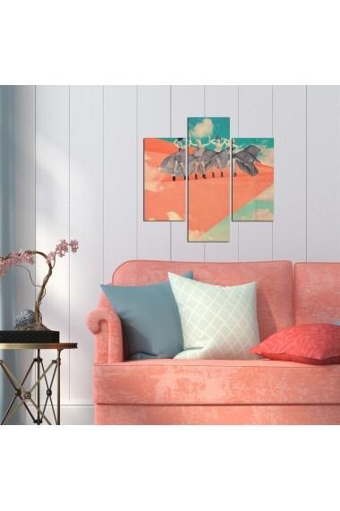Tablou decorativ (3 bucati) Three Art 251TRE1913 multicolor
