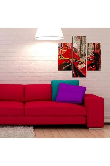 Tablou decorativ (3 bucati) Three Art 251TRE1916 multicolor