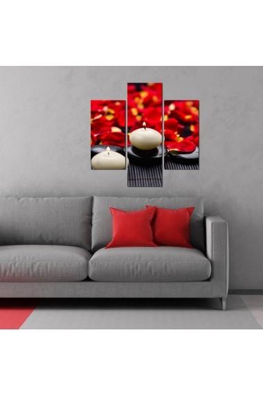 Tablou decorativ (3 bucati) Three Art 251TRE1926 multicolor