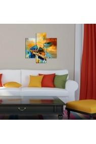 Tablou decorativ (3 bucati) Three Art 251TRE1927 multicolor
